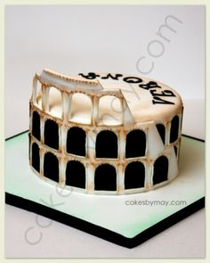 Coliseum Cake By MayWest on CakeCentral.com
