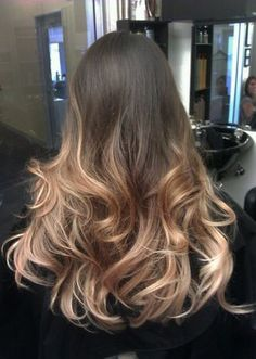I'm so doing this: Graduated Ombre by Guy Tang... honey fused into platinum ends | Yelp