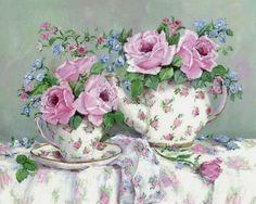 Винтажно-цветочное в нежно розовом | Gail McCormack. Обсуждение на LiveInternet - Российский Сервис Онлайн-Дневников