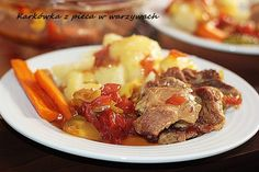 Karkówka z pieca z warzywami