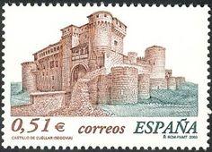 Sello: Cuéllar. Segovia (España) (Castles) Mi:ES 3844,Sn:ES 3219,Yt:ES 3558,Edi:ES 3987
