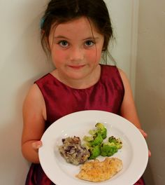 My Kid Made Dinner, She's 5: a 3-course dinner a kindergartener can cook (with help :)