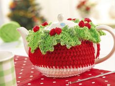 Ravelry: Christmas Tea Cosy pattern by Lynne Rowe