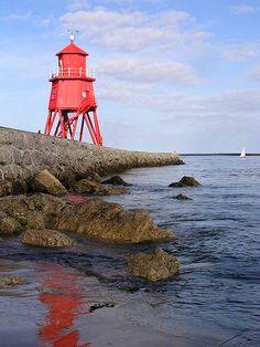 Old lighthouse, South Shields by grytr, via Flickr