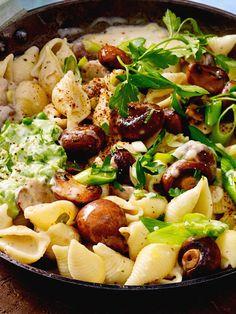 Pilzsammler, Muschel(nudel)sucher und Genussjäger - dieses Gericht ist für euch!