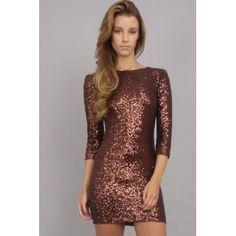 TFNC Paris Sequin Dress| Buy TFNC Paris Sequin Dress Online at Chocolate Clothing