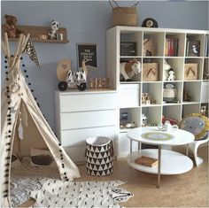 kids bedroom decor and playroom decor