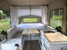 52 Creative But Simple DIY Camper Storage Ideas. With fall here it is time to pack up the trailer and find camper storage for the winter. It is always sad to say goodbye to another year of camping. Pop Up Tent Trailer, Diy Camper Trailer, Camper Hacks, Rv Campers, Camper Ideas, Camper Life, Camper Van, Tent Trailers, Travel Trailers