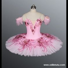 Professional Classical Ballet Tutu Pink Sugar Plum Fairy Dance Costume