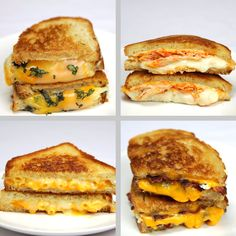 Grilled Cheese 4 Ways