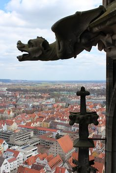 View from the Ulmer Münster
