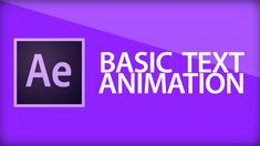 After Effects Tutorial | Text Animation and Range Selectors - YouTube