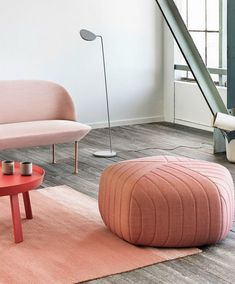 Five Pouf, A Unique Linear Design With Soft Curved Edges Muuto Introduces A  New Pouf By Anderssen U0026 Voll