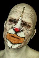 Behind The Mask - The Tears of a Clown by Liam-Liberty