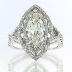 marquis cut diamond rings