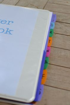 Jen's prayer notebook - great tutorial for setting up your own prayer notebook