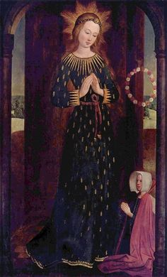 HINRICK FUNHOF LA VIRGEN MARIA CORONADA 1480