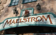 Maelstrom attraction in Epcot, Norway World Showcase Pavilion