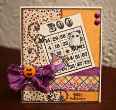 more halloween cards using that super cute stamp set!