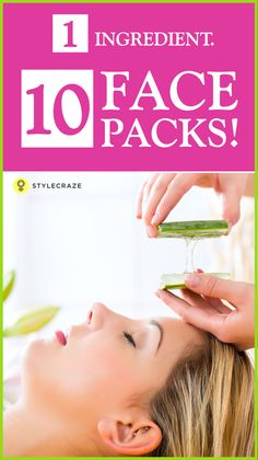 Beauty treatments and skin care routine have been associated with women since ages. One such ingredient which is common yet magical for healthy and glowing skin is Aloe Vera. It is a commonly used ingredient in herbal concoctions, medicines, and cosmetics. Here are 10 aloe vera face packs for different skin types.  #FaceMasks