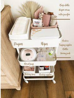 Baby Boy Rooms, Baby Bedroom, Baby Boy Nurseries, Baby Room Decor, Nursery Room, Small Nurseries, White Nursery, Room For Baby Girl, Baby Nursery Ideas For Girl
