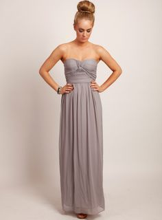 15c945f86aa Little History Maxi Dress - Dove Grey To a fancy dinner party or a wedding!