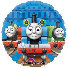 "18"" Thomas the Train and Friends Mylar Balloon - http://party-decorations.diysupplies.org/balloons/18-thomas-the-train-and-friends-mylar-balloon/"