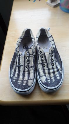 Skeletal+Shoes+#howto+#tutorial