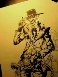 Far west Joker, by Carlos d'Anda