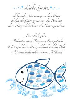 Fingerprint Fish Communion Gift Guest Book-Girl & Young Communion-Poster Blue Things blue q color es Cadeau Communion, Communion Gifts, Color Symbolism, Paint Dipping, Needlepoint Belts, Selling Handmade Items, Vintage Nursery, Christening Gifts, Scrappy Quilts