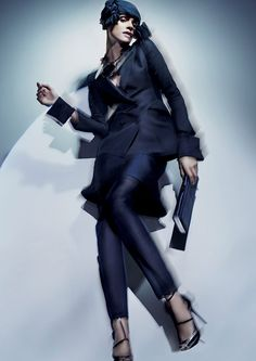 Elisa Sednaoui by Nick Knight for Giorgio Armani Spring 2011 Campaign