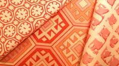 China Seas Ceylon Batik, Quadrille Ferghana, China Seas Twigs
