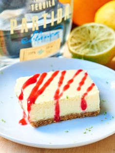 Tequila Lime Cheesecake Bars #dessert #foodporn #dan330 http://livedan330.com/2015/02/27/tequila-lime-cheesecake-bars/