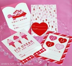 free printable valentine grams | 75 Best Valentine's Day Free Printables - A Helicopter Mom