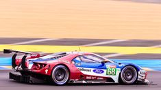 Ford GT N°68 - Ford Chip Ganassi Racing : Joey Hand ??, Dirk Müller ??, Sébastien Bourdais ?? ; Le MANS, Sarthe - FR