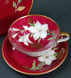 Teacup with Saucer/ Kirchenlamitz**
