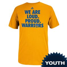 Golden State Warriors Youth On Court 2014 Adidas Playoff Tee  http://www.warriorsteamstore.com/gsw1021011408.html