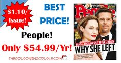 BEST DEAL AROUND! Grab People Magazine for only $54.99/year! That is only $1.10 per issue! What a great gift idea too!  Click the link below to get all of the details ► http://www.thecouponingcouple.com/people-magazine-only-54-99year-reg-399-00/ #Coupons #Couponing #CouponCommunity  Visit us at http://www.thecouponingcouple.com for more great posts!