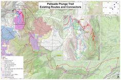 Palisade Plunge Trail Proposed Route