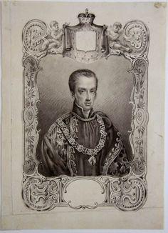 Ferdinand, Archduke of Austria as Knight of the Order of the Golden Fleece.