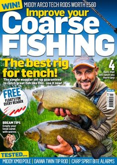 Improve Your Coarse Fishing Issue 353 Sea Angling, Fishing Magazines, Coarse Fishing, Types Of Fish, Fly Fishing, Improve Yourself, Fly Tying, Camping Tips