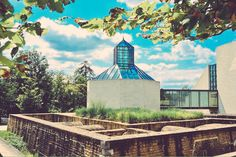 Mudam Luxembourg captured on a beautiful day