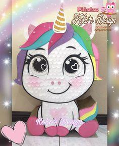 Ideas Para Fiestas, Unicorn Party, Felt Crafts, Birthday Decorations, Make Your Own, Emoji, Party Themes, Pony, Snoopy