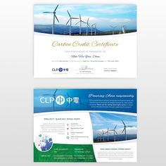 Creating a carbon credit certificate by tündilicious