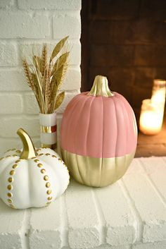 15 Easy Pumpkin Decorating Ideas - Painted Pumpkins How To
