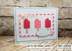 Yummy Cool Treats and tasty treats with the Paper Craft Crew