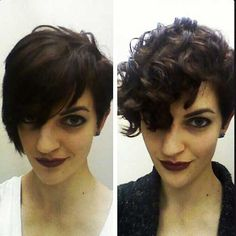 Stunning Curly Short Hair Ideas for Women | http://www.short-haircut.com/stunning-curly-short-hair-ideas-for-women.html