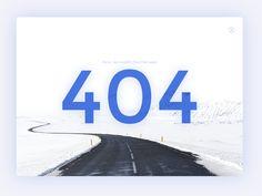 Ispirazione 404 Pagina - Muzli Inspiration -Design - Media