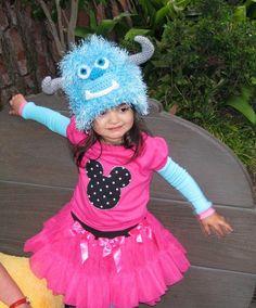 Monsters Inc. Sulley Hat - fun for Disneyland Disneyworld trip - toddler kids tween girl boy teen adult.
