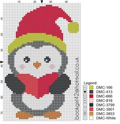 Cross Stitch Christmas Ornaments, Xmas Cross Stitch, Cross Stitch Heart, Cross Stitch Cards, Cross Stitch Animals, Christmas Embroidery, Cross Stitching, Cross Stitch Embroidery, Christmas Cross Stitch Patterns